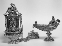 Seventeenth Century Thurible and Boat of Archbishop Antonio Gigli