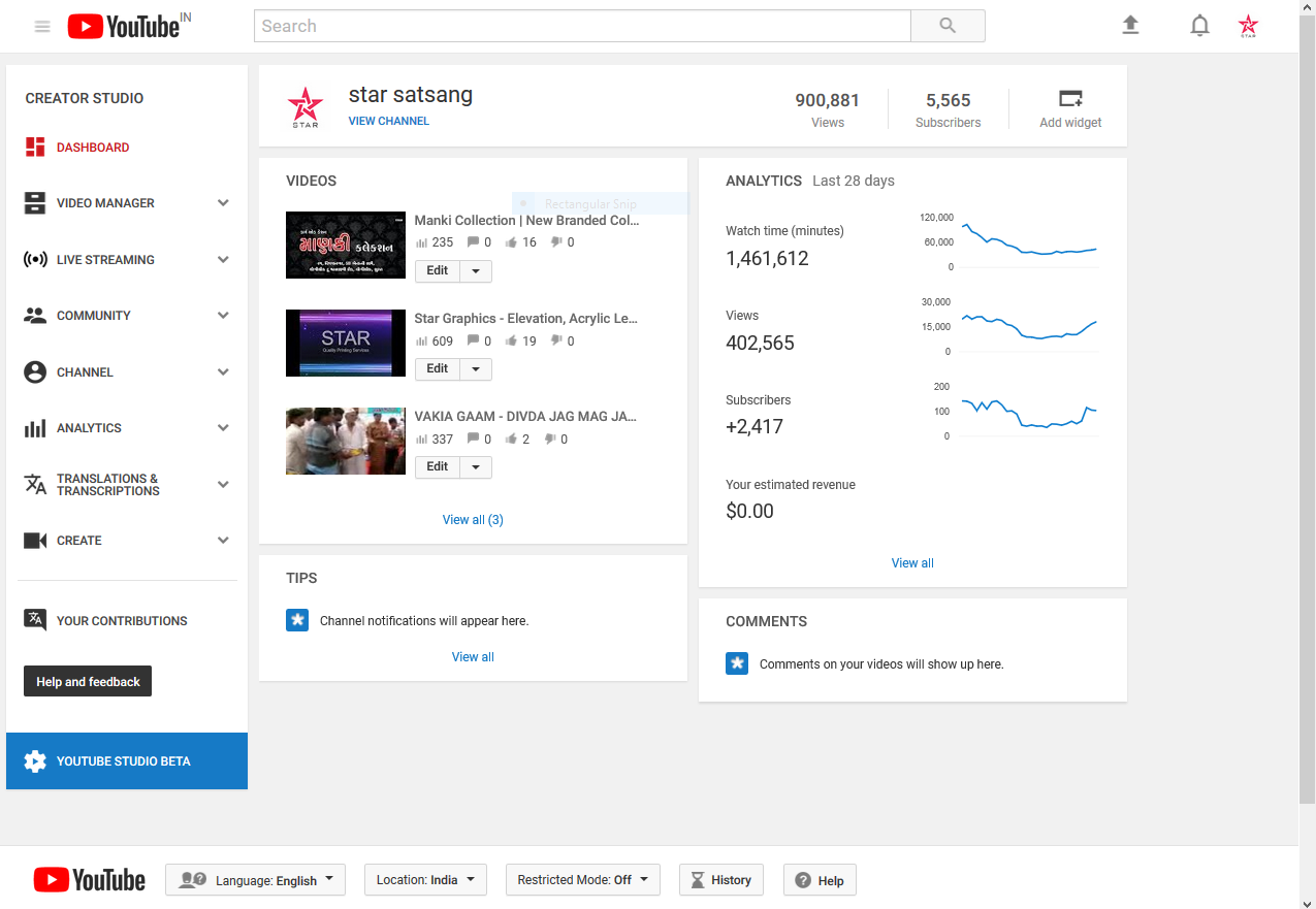 recover deleted youtube account