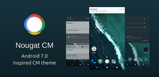 Nougat UI for Android BETA Imagem do Aplicativo