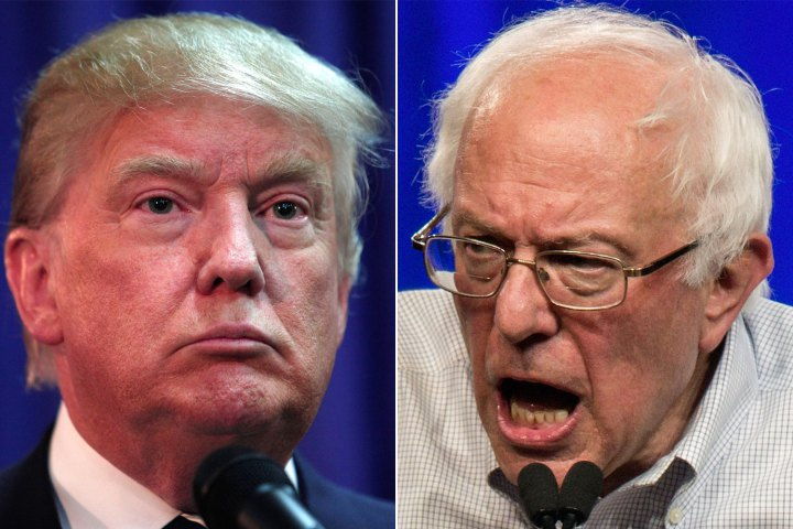 Poll finds commonalities of Trump and Sanders voters
