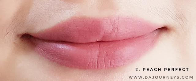 Review Wardah Intense Matte Lipstick Peach Perfect
