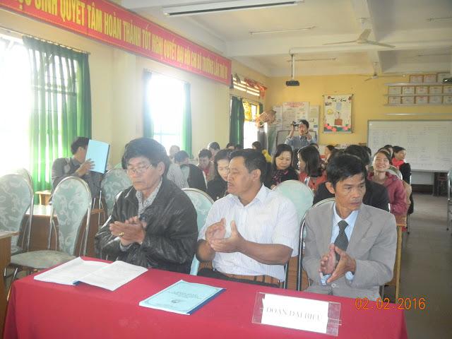 Lễ Sơ kết trong giáo viên HKI năm học 2015 – 2016
