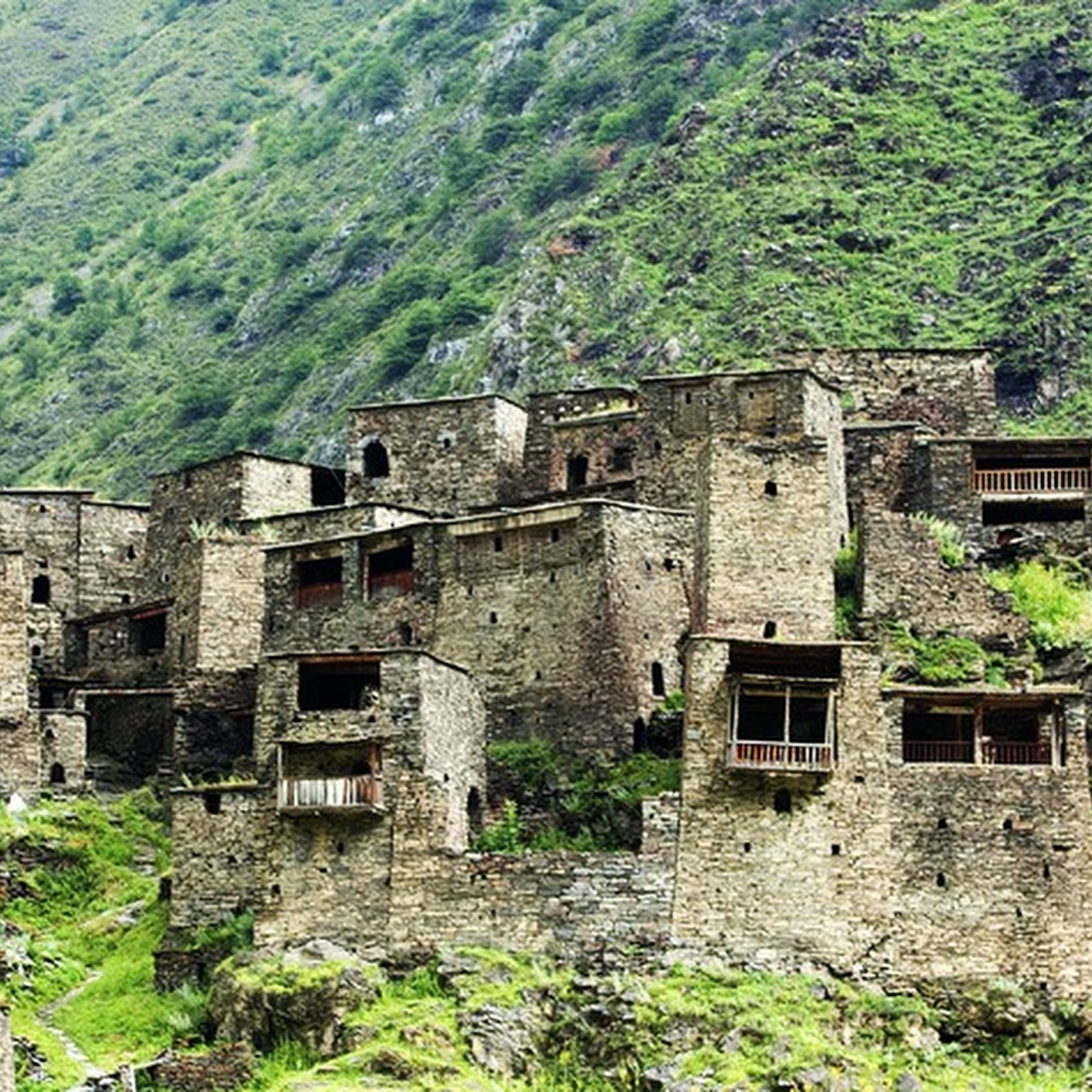 The Fortified Villages of Khevsureti