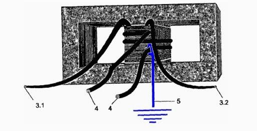 Descripción del aparato para generar energía de al tierra Trafo
