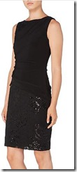 Laren Ralph Lauren Boat Neck lace and sequin skirt dress