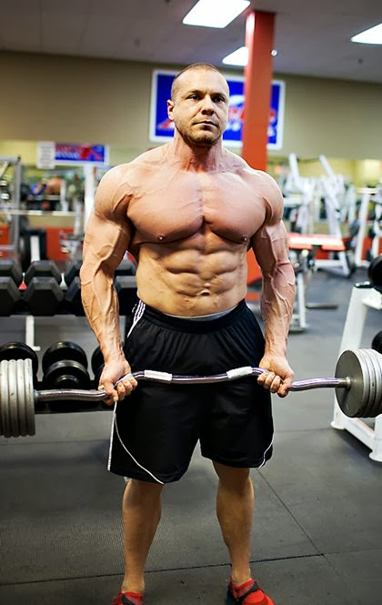 NABBA Pro Bodybuilder Marc Lobliner