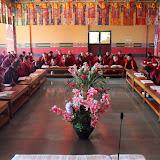 2015年11月21日尊貴的 蔣貢康楚仁波切帶領拉瓦噶舉德千林寺祖古、堪布、洛本及立佩多傑佛學院的學生進行解脫莊嚴寶論研討會第四天(2015年11月18日~ 23日)