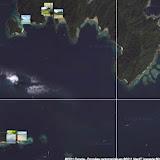 Localisation des photos sur Pulau Gaya et Pulau Manukan