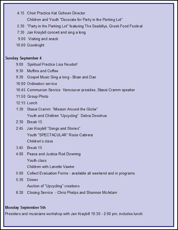schedule p. 2