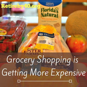 Grocery shopping more expensive