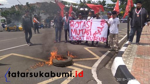Protes Keras GMNI, Rotasi Mutasi Pejabat Pemkot Sukabumi Diduga Cacat Hukum