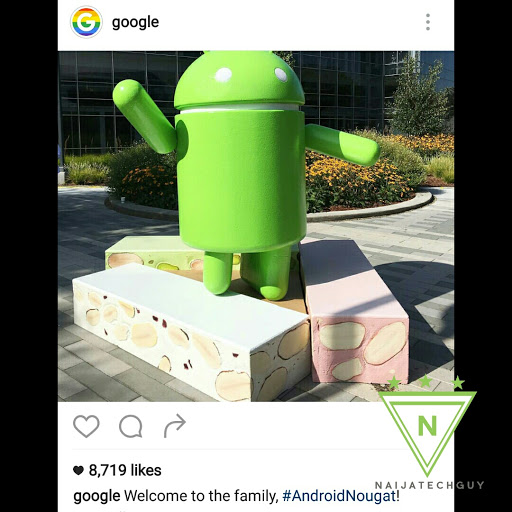 Android N is Officially Named Android Nougat 1