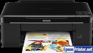 Get Epson SX130 resetter tool