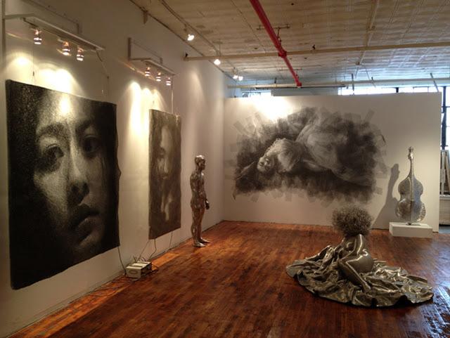 Exposición escultórica de Seung Mo Park