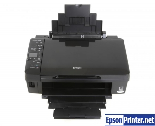 Reset Epson SX218 lazer printer by tool