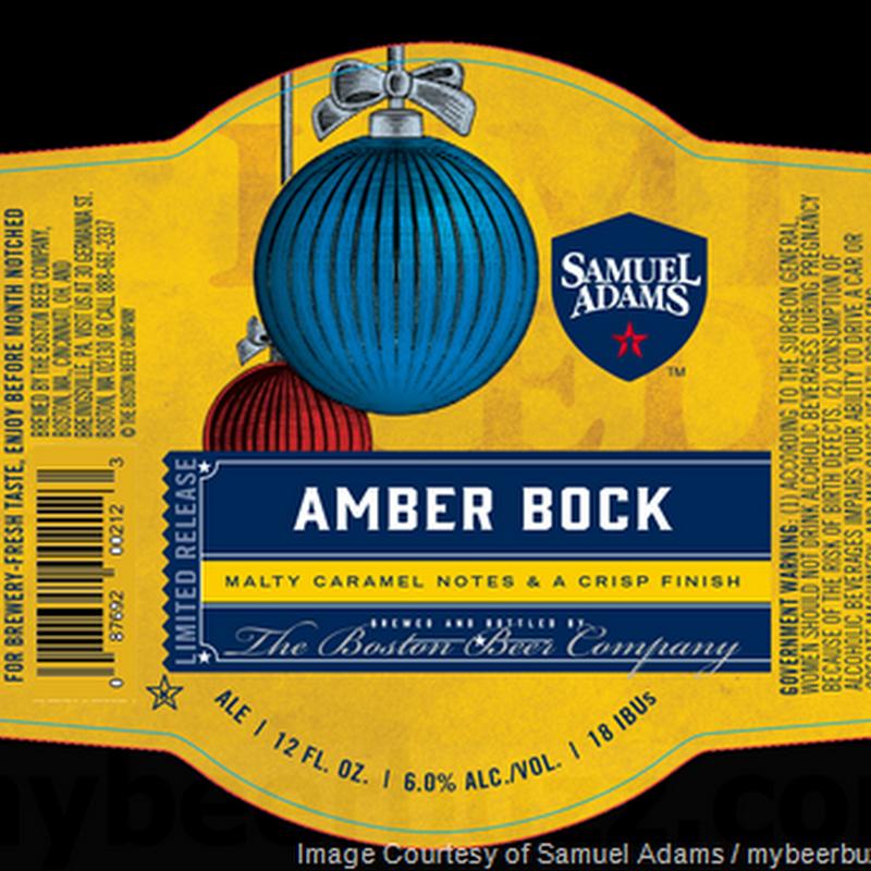 Samuel Adams - Amber Bock & Oatmeal Stout
