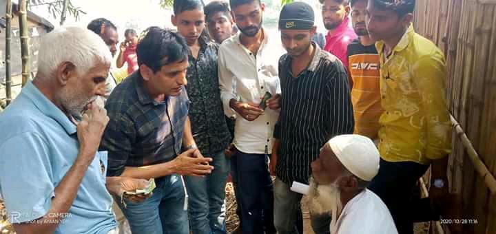 सहरसा:बिहार विधानसभा चुनाव में अपनी सक्रियता दिखाते हुए सहरसा विधानसभा 75 के रंजीत यादव के समर्थक के द्वारा सघन जनसंपर्क चलाया गया