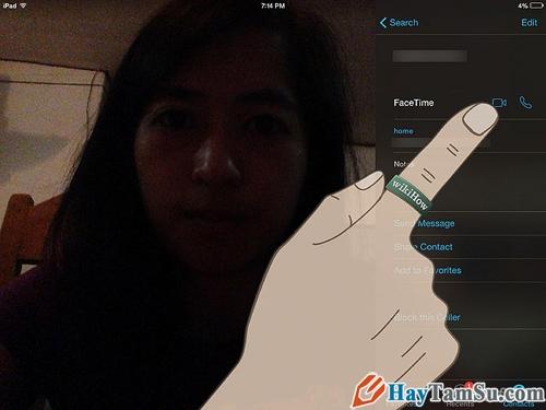 Các bước để sử dụng FaceTime trên iPad 2