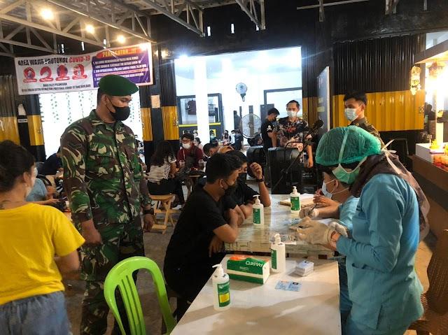 3 Orang Reaktif dalam Operasi PPKM Mikro Kecamatan Jekan Raya