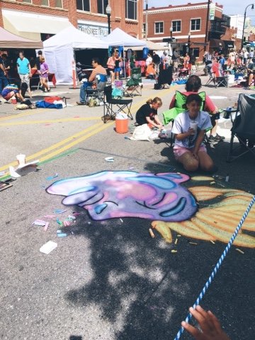 Chalk it up! Broken Arrow, OK | Art festival