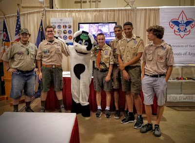 Boy Scout Troop 392 at the Ohio State Fair