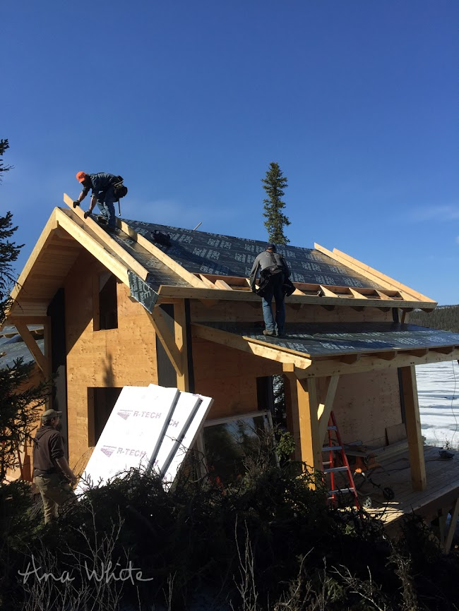 Insulating a Timberframe Roof Build Up | Ana White Woodworking Projects