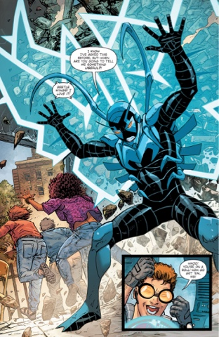 Image result for blue beetle rebirth