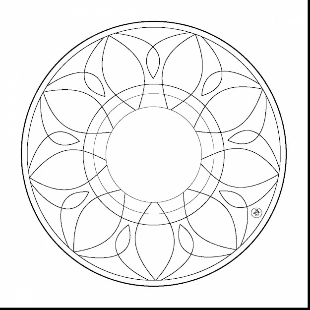 Good Simple Mandala Coloring Pages With Printable Mandala Coloring Pages  And Printable Mandala Coloring Pages Pdf