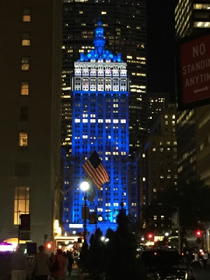 Blue Helmsley Building