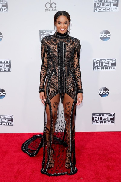 Ciara attends the 2015 American Music Awards