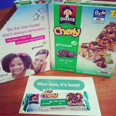 Quaker Chewy Girl Scouts Granola Bars #BzzCampaign