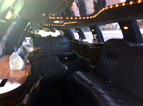 Photo: Rou5lns424-151004 intérieur voiture super longue, VatraDornei, arrêt TK, station service JLT_IMG__JPG