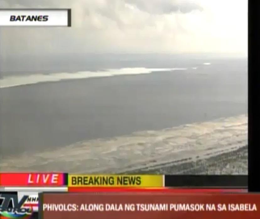 tsunami warnung philippinen