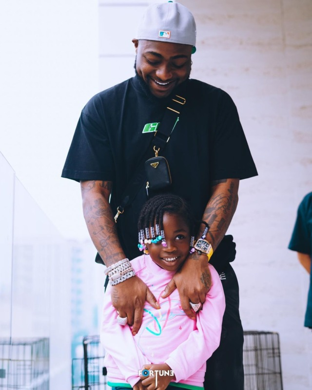 WAWU!!! Davido Gifts His First Daughter, Imade, A Range Rover As Birthday Present