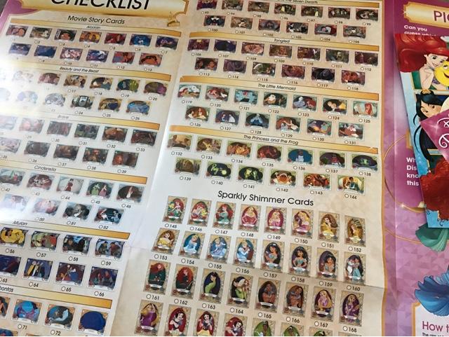 disney-princess-trading-card-game-checklist