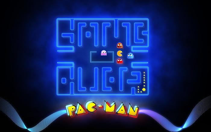 Hình nền đa phong cách về game Pacman - Ảnh 1