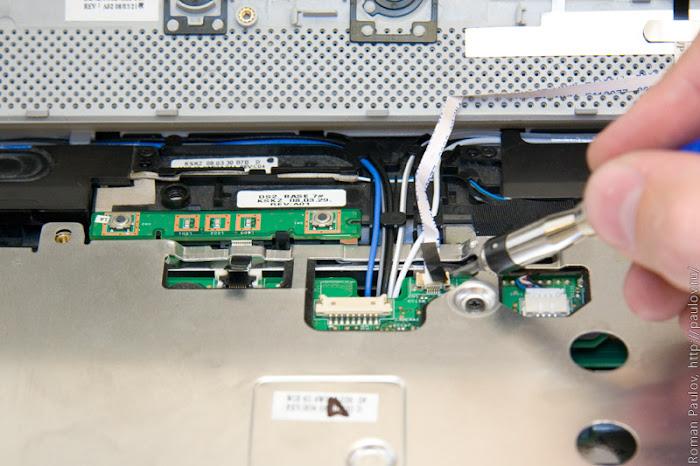 Как разобрать ноутбук Dell Inspiron 1525 15