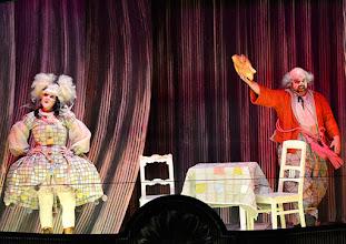 Photo: Salzburger Osterfestspiele 2015: I PAGLIACCI. Premiere 28.3.2015, Inszenierung: Philipp Stölzl. Dimitri Platanias. Maria Agresta. Copyright: Barbara Zeininger