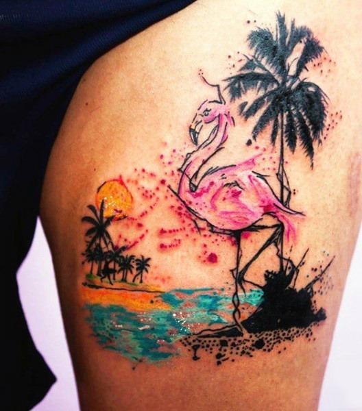 esboçado_praia_coxa_tatuagem