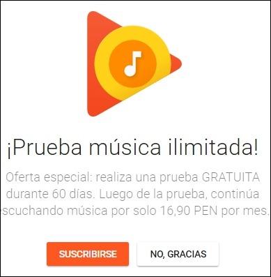 Abrir mi cuenta Google Play Musica - 4