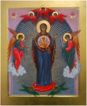 Итак, Воронежская оранта – это икона Пр. Богородицы, спасающей от пятничного греха – несправедливого суда и казни