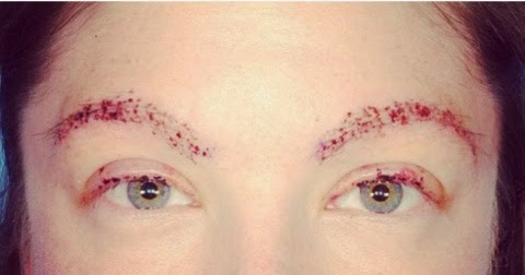 Beauty and Brow Girl by Rose Prieto: TRICHOTILLOMANIA: hair pulling disorder
