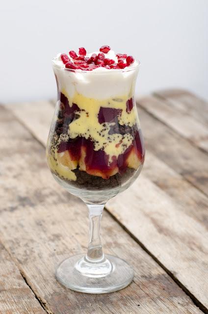 Trifle cu gutuie