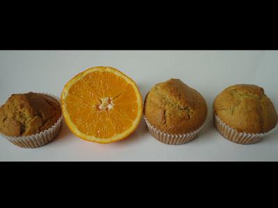 Muffinki pomarańczowo-orzechowe