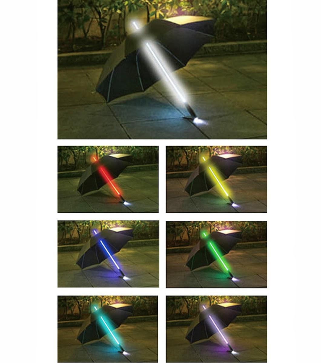 *RELAX Light Blade Umbrella:是誰偷走了黑武士的光劍? 3