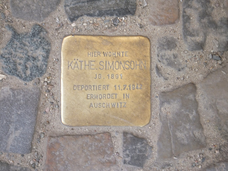 Stolpersteine, Gunter Demnig, Berlín