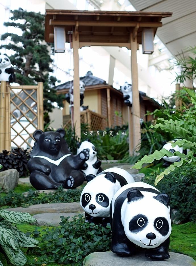 8 1600熊貓世界之旅-SOGO復興館日式庭園