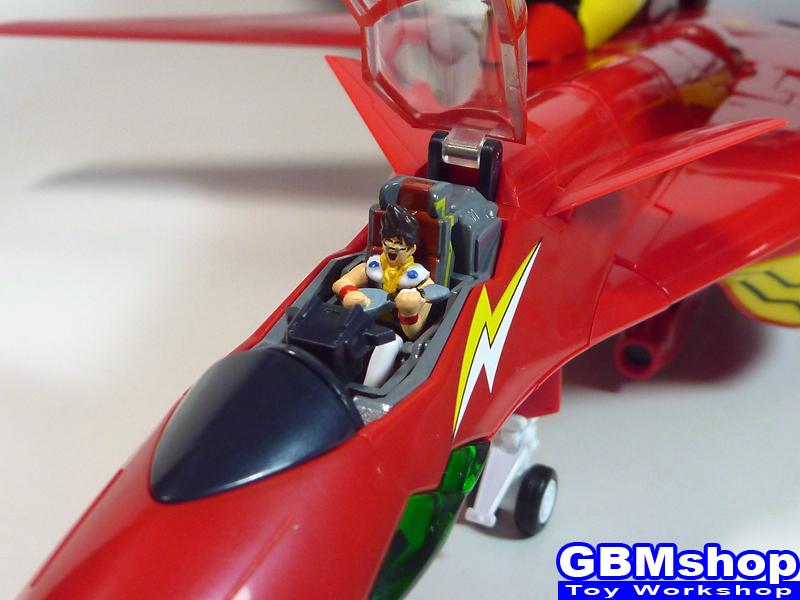 Macross 7 Yamato 1/60 VF-19 Kai Excalibur Custom with Sound Booster