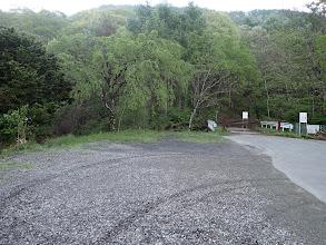 古屋敷の駐車地