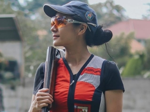 Wagub Audy Joinaldy Lepas Atlet Sumbar Ikut Kejuaraan Menembak Dunia